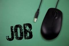 Wortschreibens-Text Job Geschäftskonzept für A zahlte Position des gelegentlichen Werkstücks der festen Anstellung der Aufgabe lizenzfreies stockbild