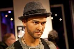 Wosk postać Justin Timberlake aktor i piosenkarz w Madame Tussauds Nawoskujący muzeum w Amsterdam, holandie Zdjęcia Stock
