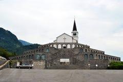 Włoski charnel dom Kobarid Zdjęcia Royalty Free