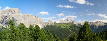 Włoski dolomitu krajobraz Obrazy Stock