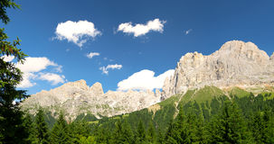 Włoski dolomitu krajobraz Obraz Royalty Free