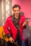 Wosku figura Elvis Presley obrazy royalty free