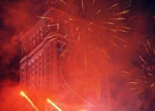 WOSP Vrij overleg bij de liefdadigheidscampagne Stock Foto's