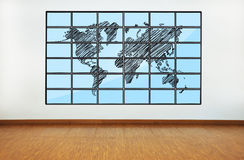 Wotld map Stock Images
