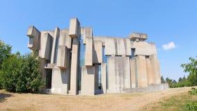 wotruba kościół, Vienna, Austria, niekonwencjonalny, futurystyczny, dziwaczny, współczesny budynek, 4k zbiory