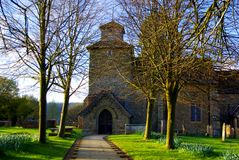 Wotton Church Royalty Free Stock Photos