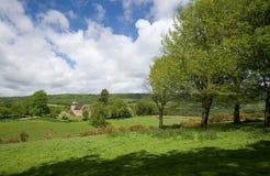 wotton surrey сельской местности Стоковые Изображения RF