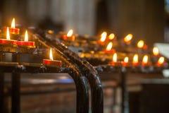 wotywne świece obrazy royalty free