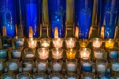 wotywne świece Zdjęcia Royalty Free