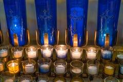 wotywne świece Fotografia Stock