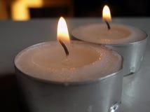 wotywne świece. Zdjęcia Royalty Free