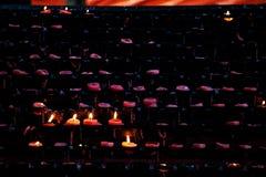 wotywne świece Zdjęcie Stock