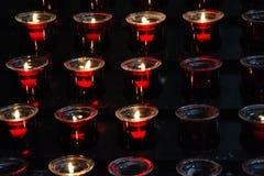 wotywne świece Fotografia Royalty Free