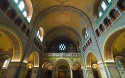 wotywny nave kościelny organ Obrazy Stock