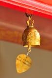 Wotywny złoty dzwon Zdjęcie Royalty Free