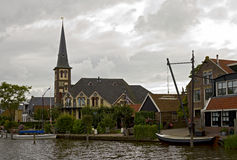 Woudsend, Friesland, the Netherlands Stock Image