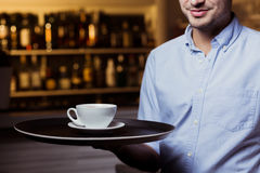 Would you like a cup of coffee? Stock Photo