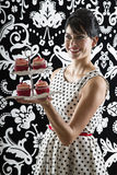Would you like a cupcake Stock Images