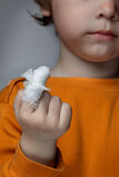 Wound. Boy with a wound on his finger Stock Images