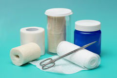 Wound Dressing Royalty Free Stock Photography