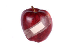 Wounded Apple stock photography