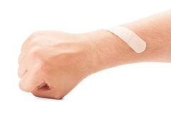 Wounded arm concept Royalty Free Stock Photography
