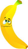 Wounded banana Royalty Free Stock Images