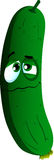 Wounded cucumber or pickle Royalty Free Stock Image