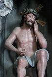 Wounded Jesus Stock Photo