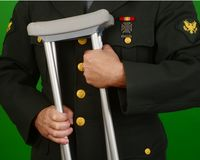 Wounded Soldier Veteran Stock Images