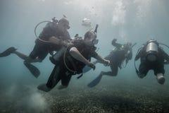 Wounded Warrior Program in Key Largo, FL Royalty Free Stock Photo