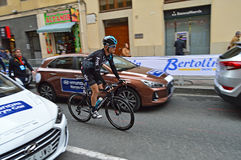 Wout Poels Team Sky La Vuelta España Royalty Free Stock Images