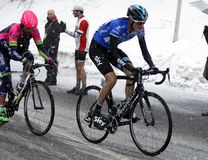 Wouter Poels rise in Terminilo Royalty Free Stock Images
