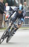 Wouter Poels Team Sky Royalty Free Stock Photos