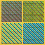 Woven background Royalty Free Stock Photos
