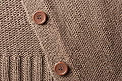 Woven background with buttons Royalty Free Stock Photos