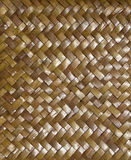 Woven background of natural material Stock Photography