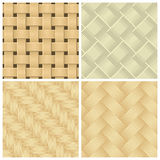 Woven background patterns Stock Image