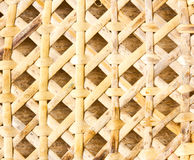 Woven bamboo. Royalty Free Stock Photo