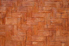 Woven bamboo background Stock Photo