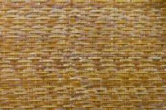 Woven bamboo background Stock Photos