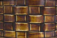 Woven Bamboo Background Royalty Free Stock Images