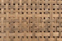 Woven bamboo basket Royalty Free Stock Photos
