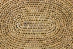 Woven bamboo closeup Stock Photos