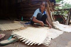 Woven bamboo Royalty Free Stock Photo