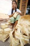 Woven bamboo Stock Photography