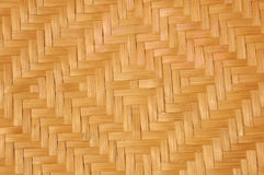 Woven bamboo mat Royalty Free Stock Photos