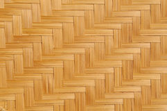 Woven bamboo mat Royalty Free Stock Photography