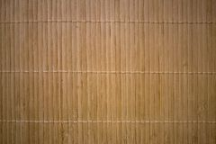 Woven bamboo mat stock photography