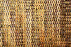 Woven bamboo pattern Stock Images